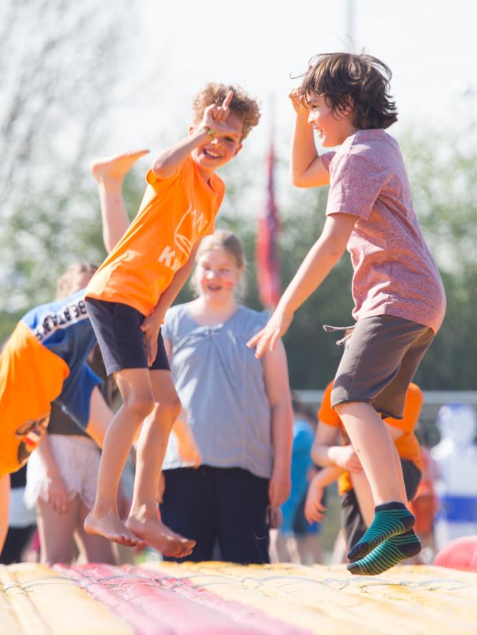De Koningsspelen is een van de evenementen waarbij sport en cultuur al worden gecombineerd.