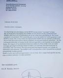 De brief die huisarts Ramdas aan zijn patiënten heeft gestuurd.
