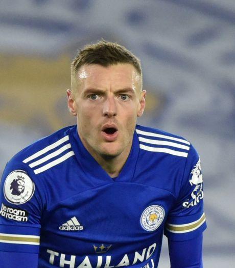 """""""Plusieurs semaines"""" d'absence pour Vardy, coup dur pour Leicester City"""