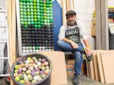 Kunstenaar Stef Vedder woedend over weghalen vissen van rotonde in Bunschoten: 'Ik voel me genaaid'