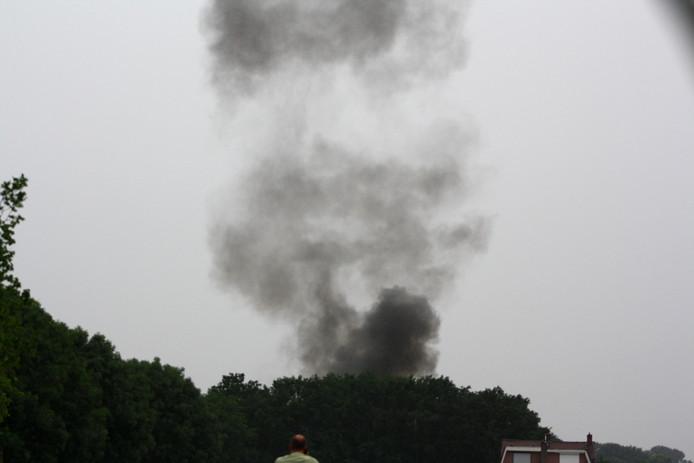 Vliegtuigongeluk Seppe 31-5-2018 Foto Ton de Haan
