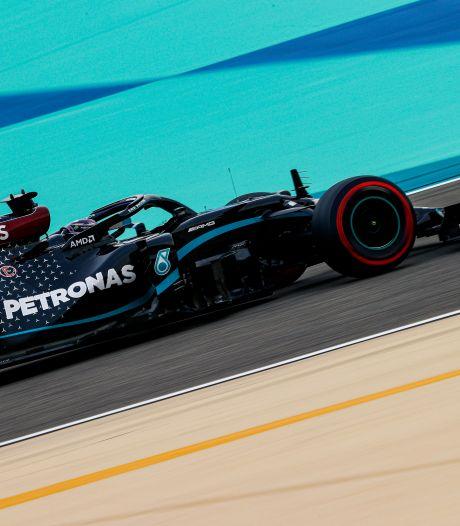 Hamilton décroche la pole position à Bahreïn, la 98e de sa carrière