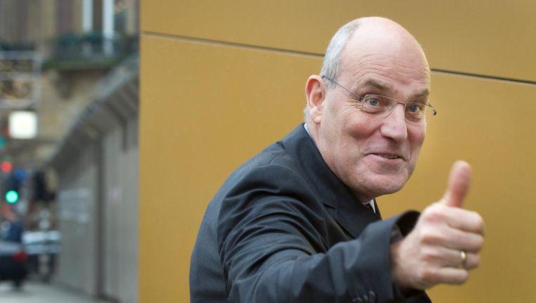 Peter Hartman in 2011, bij de nieuwjaarsreceptie van koningin Beatrix in Amsterdam Beeld anp