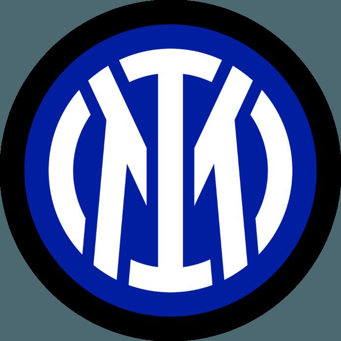 Het nieuwe logo van Inter Milano.