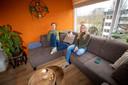 Gert-Jan van Leeuwen en zijn vriendin Mariët van Schier verhuizen met een flinke winst naar een gezinswoning.
