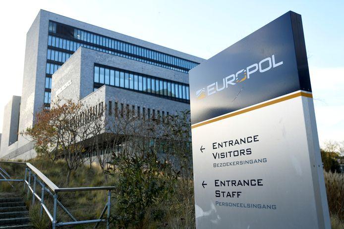 Het Europol-hoofdkantoor in Den Haag.