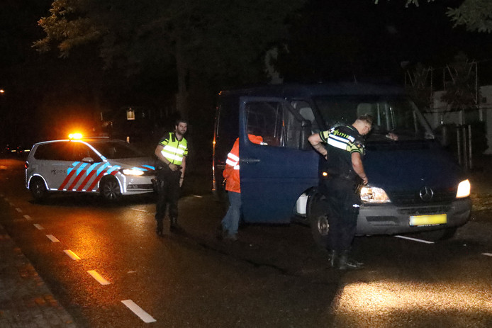 Ongeval persoon en busje Schaijk.