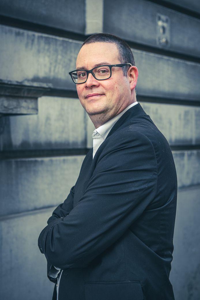 PVDA-kopman Raoul Hedebouw.