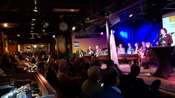 Verkiezingsdebat in Porgy & Bess, Terneuzen.