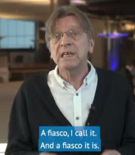 "Verhofstadt flingue la campagne de vaccination de l'UE: ""C'est un fiasco"""