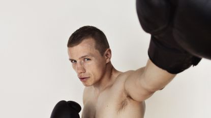 """De lockdown van bokser Junior Bauwens: """"Ik mis het contact met onze clubleden"""""""