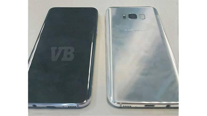 Beelden Samsung Galaxy S8 uitgelekt
