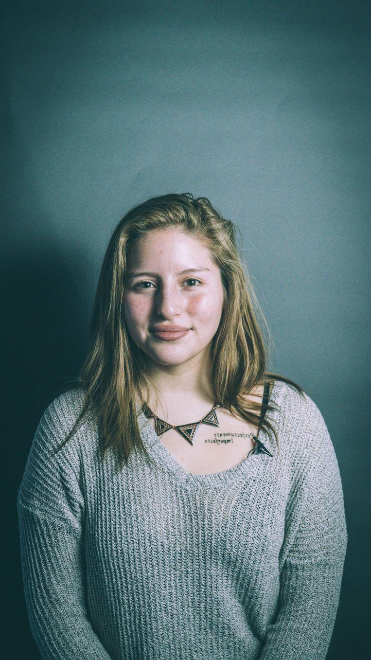 Nicole Ponce Trelles: 'Wat gebeurd is, is gebeurd. Nu is mijn leven is goed en focus ik mij op de toekomst.' Beeld Sam Feys