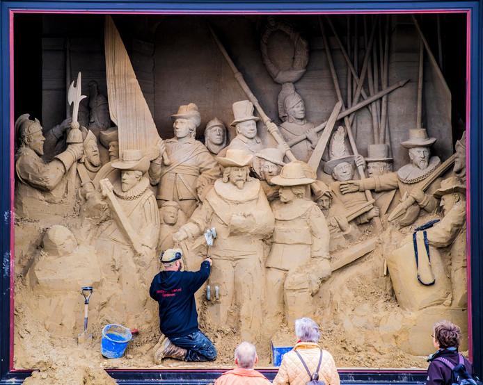 Afbeeldingsresultaat voor wk zandsculpturen 2018