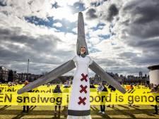 Windmolenprotest blijft, zelfs als ze bij IJburg niet komen