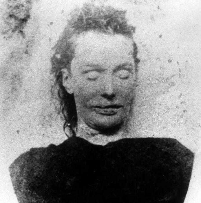 Elizabeth Stride, een van de slachtoffers van Jack the Ripper.
