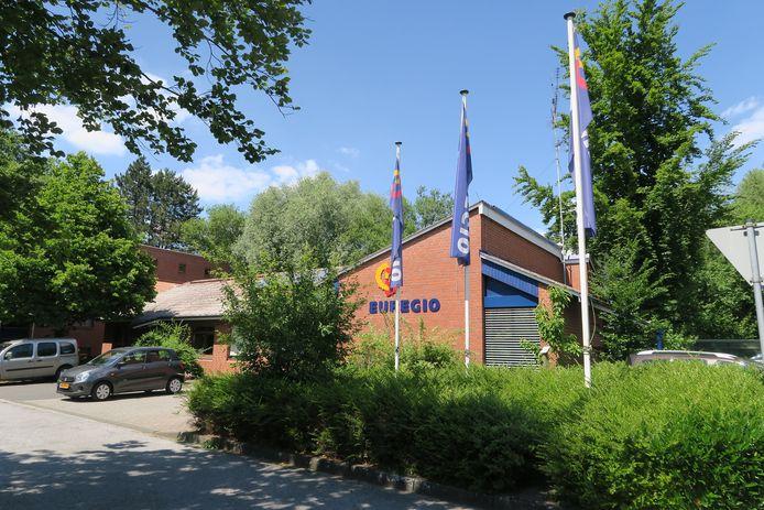 Het huidige Euregio-kantoor in Gronau is aan vervanging toe. Er wordt een plan voor een gloednieuwe Euregio-campus uitgewerkt.