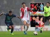 Eindstanden in groepen AZ, Feyenoord en PSV