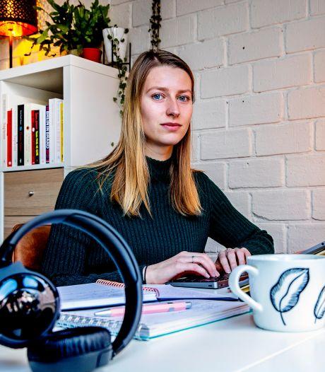 Christy-Anne studeert al bijna een jaar vanuit huis: 'Laat me alsjeblieft naar de faculteit komen'