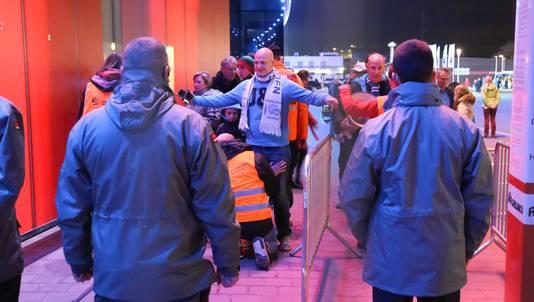 Gisteren voor AA Gent-Westerlo werd er ook al strenger gecontroleerd.