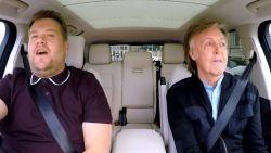 Goed nieuws voor de fans! Er komt een extra Carpool Karaoke met Paul McCartney