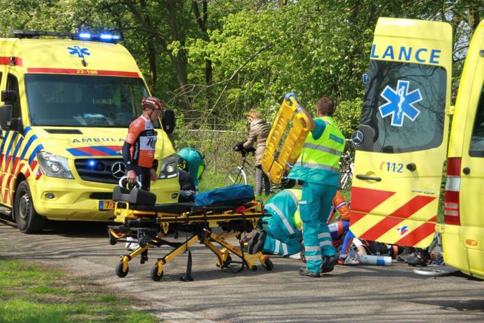 Zwaargewonden bij ongeluk op Voortje