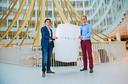 Eneco verwierf eind vorig jaar het exclusieve recht om in de Benelux Teslas Powerwall te verkopen. Daarmee kunnen huishoudens zonnestroom opslaan.