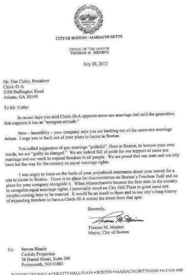 De brief zoals die op het internet de ronde doet. Beeld Facebook