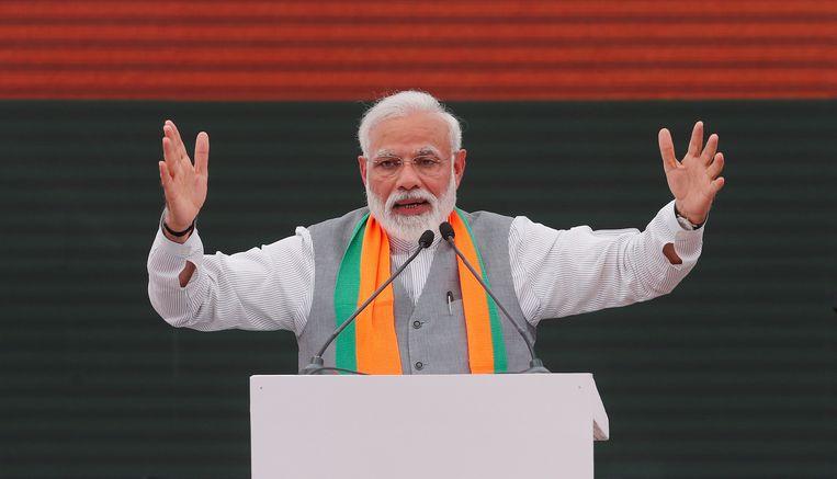 Premier Narendra Modi Beeld REUTERS