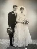 Pie en Wally Langendonk trouwden op 7 april 1961.