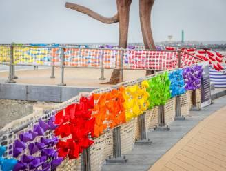 Hier kan je echt niet naast kijken: 3.000 papieren bootjes vormen duidelijke boodschap tegen holebi- en transgenderhaat