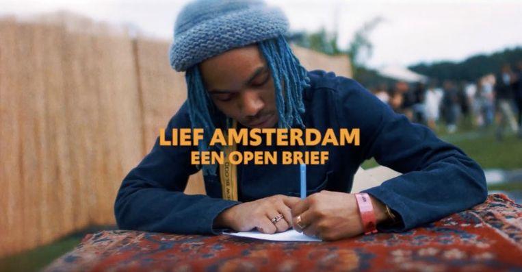 In een video doet Vunzige Deuntjes een oproep voor een gesprek over het festivalbeleid van Amsterdam. Beeld screenshot