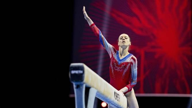 Naomi Visser nestelt zich tussen mondiale elite op WK turnen