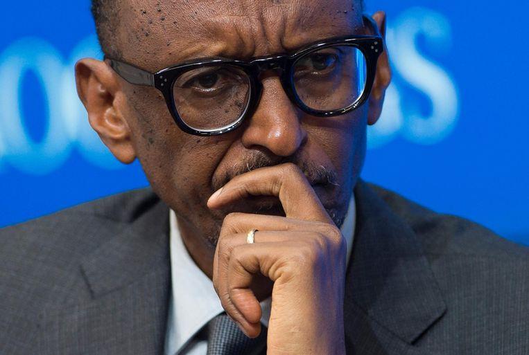 President Paul Kagame. Beeld AFP