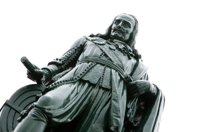 Standbeeld van Michiel de Ruyter in Vlissingen.