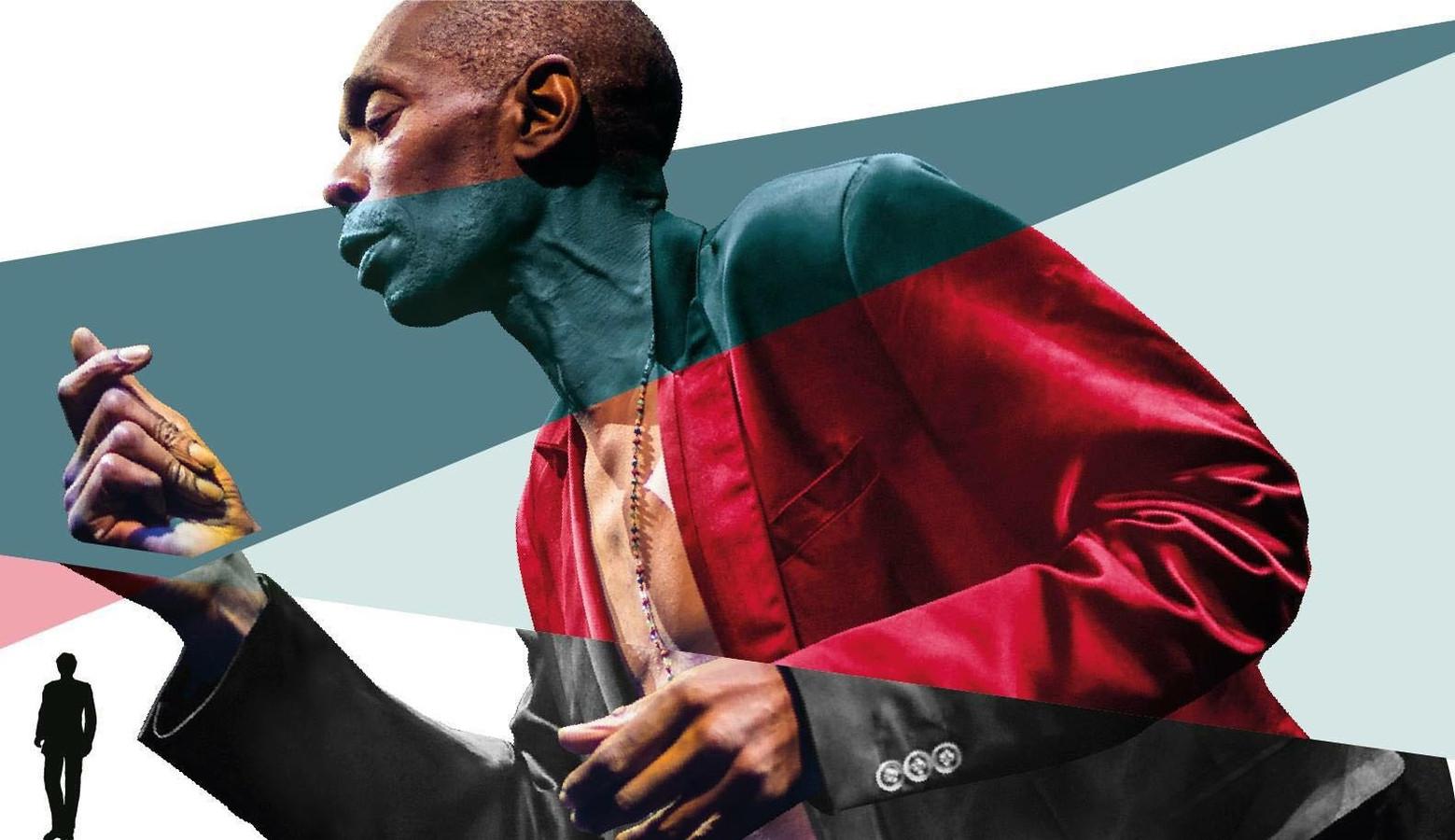 Een van de 7 artiesten uit Eindhoven of met betekenis voor Eindhoven die vereeuwigd worden is Maxi Jazz van Faithless
