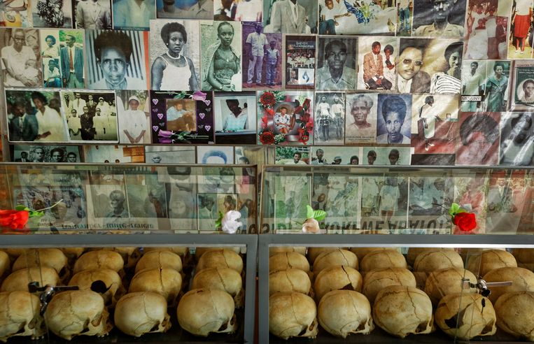 Vandaag is het precies 25 jaar geleden dat de Rwandese genocide begon.  Beeld AP