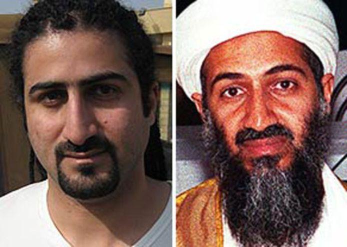 Omar et son père, l'ancien chef d'Al-Qaïda mort en 2011, Oussama ben Laden.
