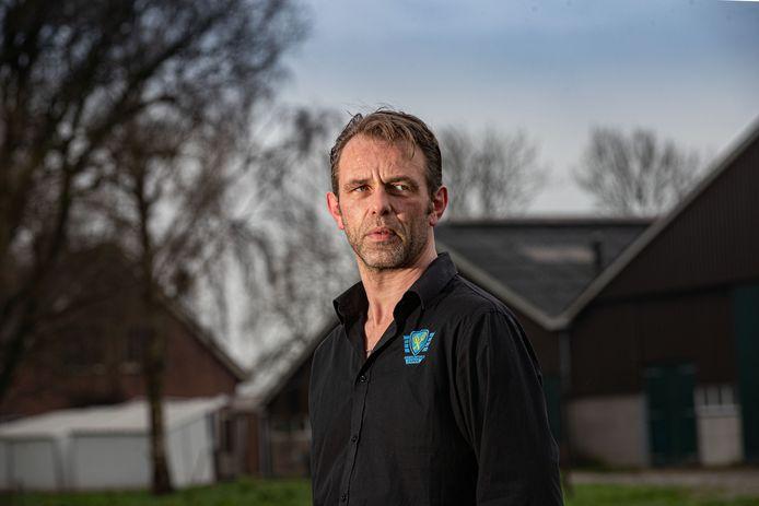 Melkveehouder Jeroen van Maanen uit Zeewolde, voormalig voorman van Farmers Defence Force.