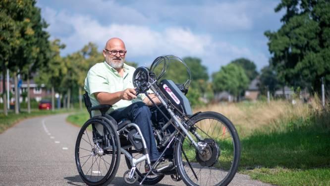 Geert Henk Wessels uit Daarle geeft sportclinics: 'Kinderen kijken na afloop niet vreemd naar een handicap'