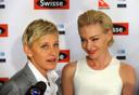 Ellen en haar vrouw Portia.