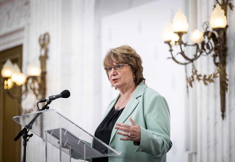 Informateur Mariëtte Hamer: 'Na alles wat er is gebeurd, zien we dit als startpunt.' Beeld SEM VAN DER WAL/ANP