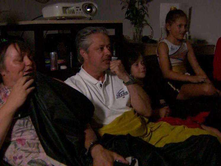 Familie Derwael juicht na oefening van Nina Derwael