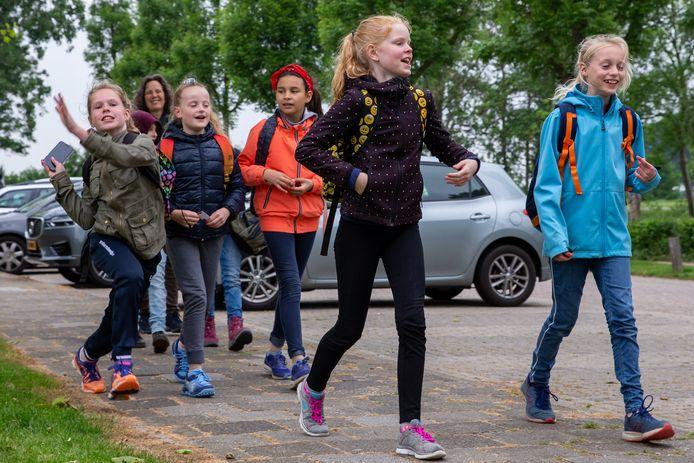 Avondvierdaagse in Beek in 2019.