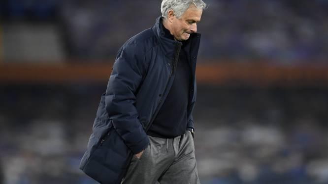 """""""Ik ben als enige verantwoordelijk"""": na uithaal naar z'n spelers en donderspeech in de kleedkamer kijkt Mourinho nu ook in de spiegel"""
