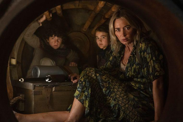 Emily Blunt in 'A Quiet Place Part II' Beeld AP