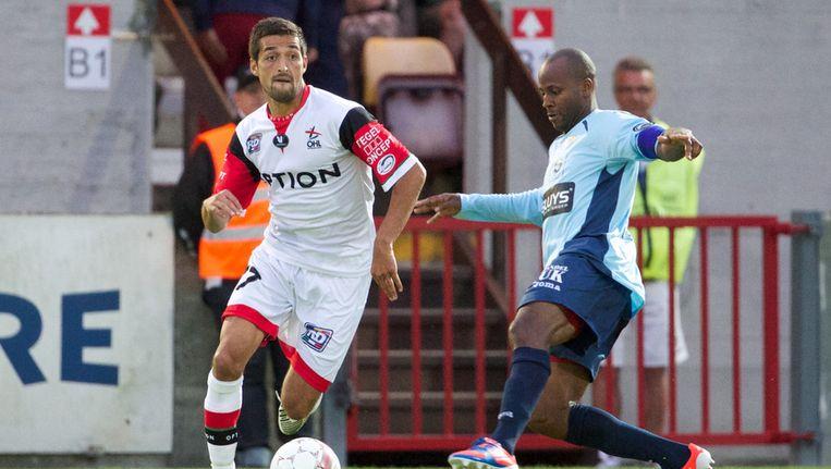 Messoudi scoorde vanop de stip. Beeld BELGA