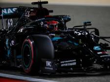 Première journée parfaite pour Russell au volant de la Mercedes d'Hamilton