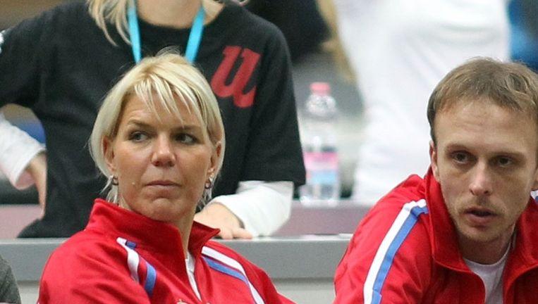 Tatjana Jecmenica (links) verwacht dit weekend een open strijd. Beeld photo_news