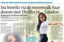 Drie jaar geleden had Ina een interview met onze krant, toen ze net zou starten met de musical Thriller Live.